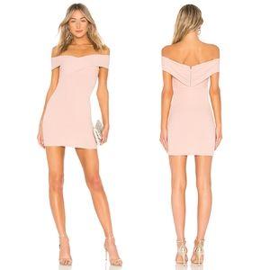 Privacy Please Bandini Mini Dress in Baby Pink M